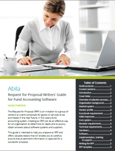 Abilia RFP Writers' Guide