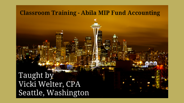 2015 Abila MIP Fund Accounting Classroom Training