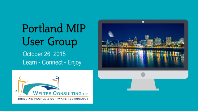 Portland MIP User Group