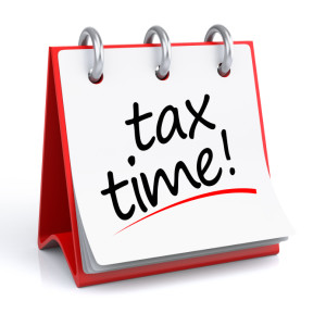 It's Tax Time!