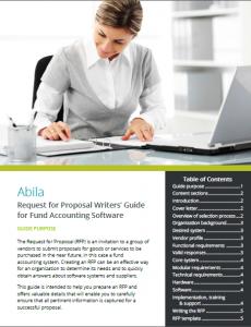 Abilia RFP Writers' Guide